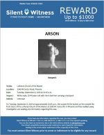 Arson / Lutheran Church of the Master 2340 W. Cactus Rd